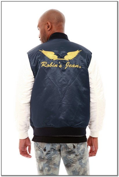 White Robin Jeans Jacket